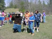 """Sioux"", Sara , & Smokey! ~ ""Tomorrow's Outdoor Generation""~ Event in Salem, Va."